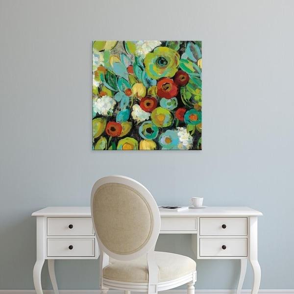 Easy Art Prints Silvia Vassileva's 'Fiesta Floral Crop' Premium Canvas Art