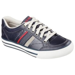 Skechers 93697 NVY Boy's PLANFIX - BLOKE Sneaker