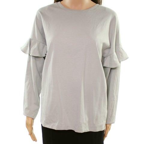 Lauren by Ralph Lauren Gray Women's Size Large L Sweatshirt