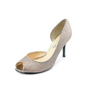 Marc Fisher Joey 3 Peep-Toe Synthetic Heels