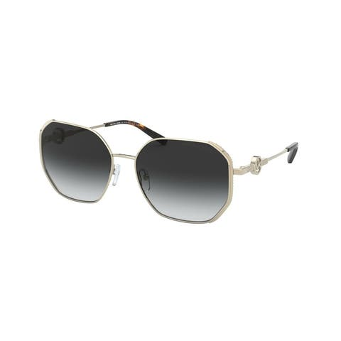 Michael Kors MK1074B 10148G 57 Light Gold Woman Irregular Sunglasses