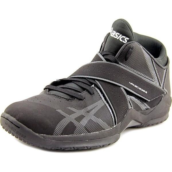 Asics Naked Eg Men Round Toe Synthetic Black Sneakers
