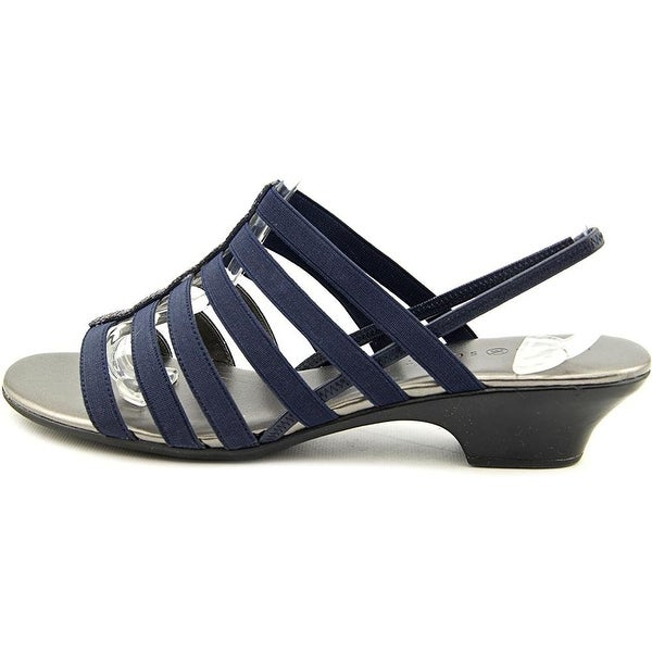 Karen Scott Womens Estevee Open Toe Casual Strappy Sandals