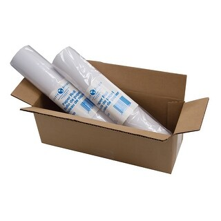 """Offex Paper Roll 12"""" X 75' - White -Set of 2"""