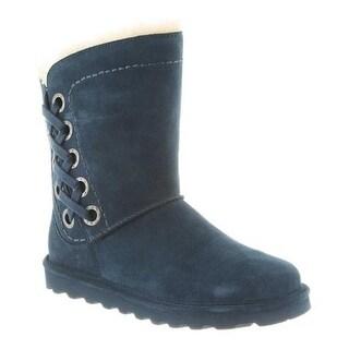 Bearpaw Women's Morgan Boot Slate Blue Cow Suede