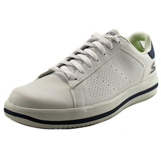 Skechers On The Go-Element Men Round Toe Synthetic White Walking Shoe