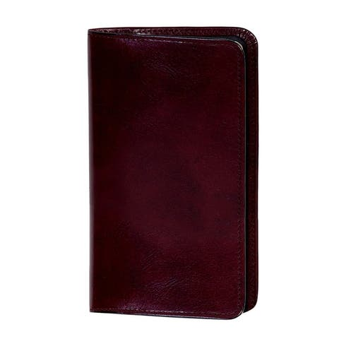 Scully Western Address Book Italian Leather Telephone Pocket