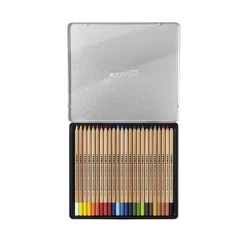 Lyra - Rembrandt Polycolor Colored Pencil Set - 24-Color Set