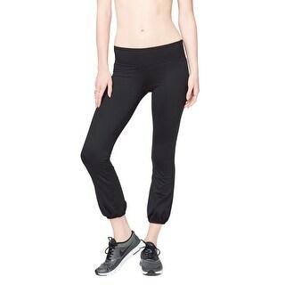 Aeropostale Womens No Sweat Casual Leggings, black, X-Small