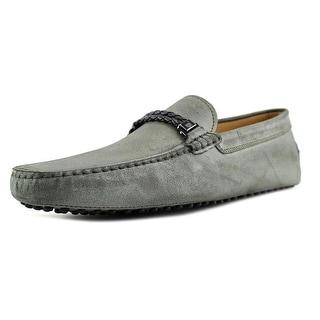 Tod's Morsetto Interaccio Gommini 122 Square Toe Leather Loafer
