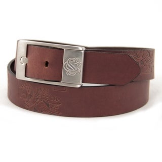 University of South Carolina Brandish Leather Belt