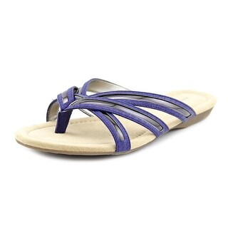 Bandolino Naccari Open Toe Synthetic Thong Sandal