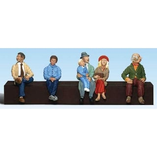 "Woodland Scenics - Scale Figures - 1/4"" Seated People"