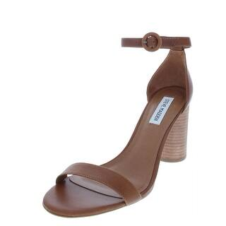 55d12487b02b Steve Madden Womens Dancer Leather Open Toe Casual Ankle Strap Sandals ·  Quick View
