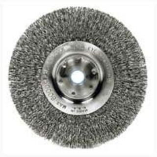 """Weiler 36406 Crimped Wheel Brush, 6"""""""