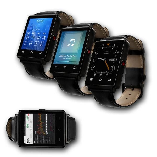 Indigi® NEW 2017 3G GSM Unlocked SmartWatch & Phone + WiFi + GPS + Bluetooth 4.0 + Heart Rate Monitor