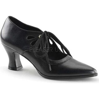 Funtasma Women's Victorian 03 Black PU