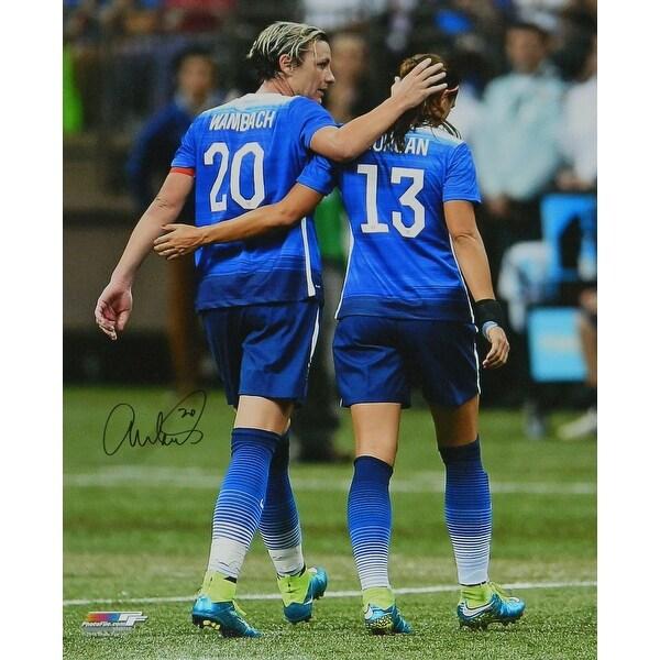 Abby Wambach USA Soccer With Alex Morgan 16x20 Photo