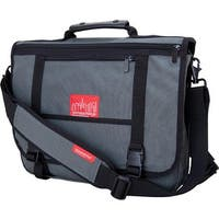 Manhattan Portage  Wallstreeter With Back Zipper Grey - us one size (size none)