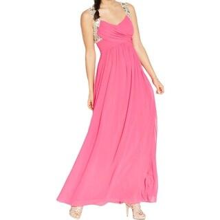 City Studio Womens Juniors Semi-Formal Dress Sleeveless Jeweled - 1