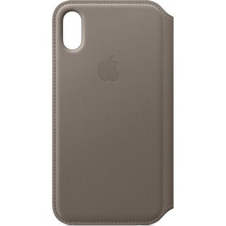 Apple iPhone X Leather Folio