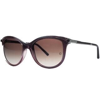 Montblanc MB471/S 71T Purple Cateye Sunglasses - 56mm-17mm-135mm