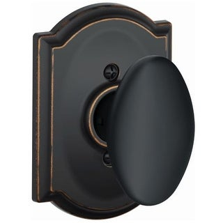 Schlage F170-SIE-CAM Siena Single Dummy Door Knob with Decorative Camelot Trim (4 options available)