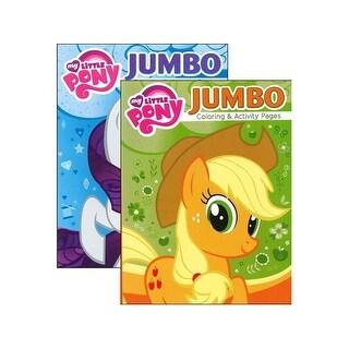 Bendon Jumbo Coloring & Activity Bk Astd My Pony
