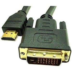 """""""Link Depot LD-DVI6HDMI Link Depot LD-DVI6HDMI DVI to HDMI Cable - Male HDMI - DVI Male - 6ft - Black"""""""