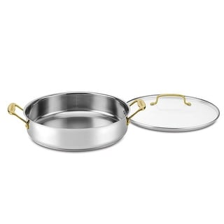 Link to Cuisinart C7M55-30GD Mineral Collection 5 Quart Casserole with Cover, Stainless Steel Similar Items in Cookware