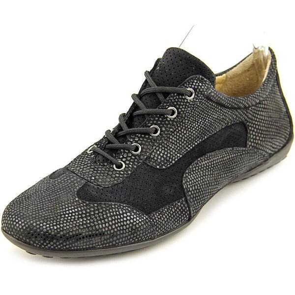 Vaneli Alfie Women Suede Black Fashion Sneakers