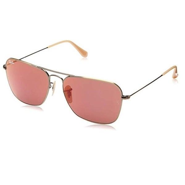 bc6c76cf739 Shop Ray-Ban Men s Rb3136 167 2K Caravan Matte Bronze Red Aviator 58Mm  Sunglasses - Matte Bronze - One Size - Free Shipping Today - Overstock -  24214924