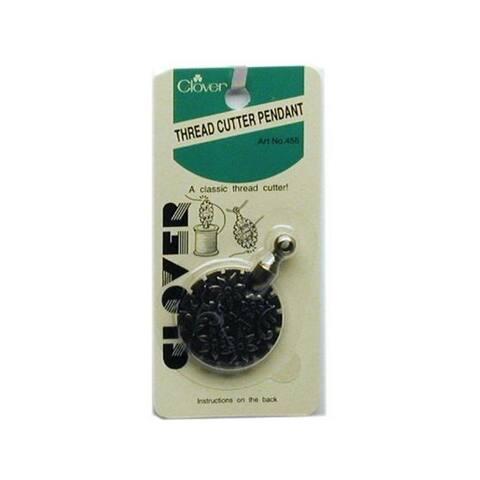 455 clover thread cutter pendant antique gold
