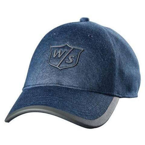 Wilson Women Staff One Touch Cap Tour Golf Hat Denim Adjustable 4 Colors WGH594 - One Size