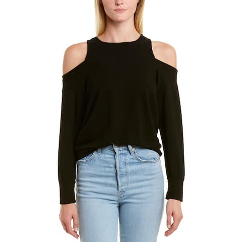 Monrow Cold-Shoulder Sweatshirt