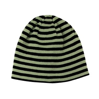 Reversible Striped Cuffless Beanie (5 options available)