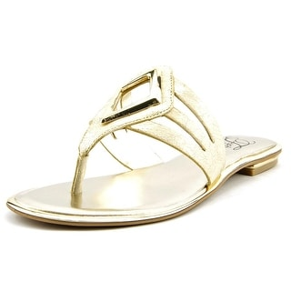 Fergie Sam Open Toe Synthetic Thong Sandal