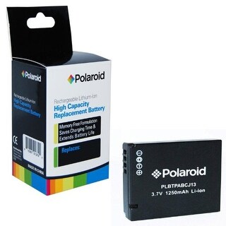Polaroid High Capacity Panasonic BCJ13 Rechargeable Lithium Replacement Battery