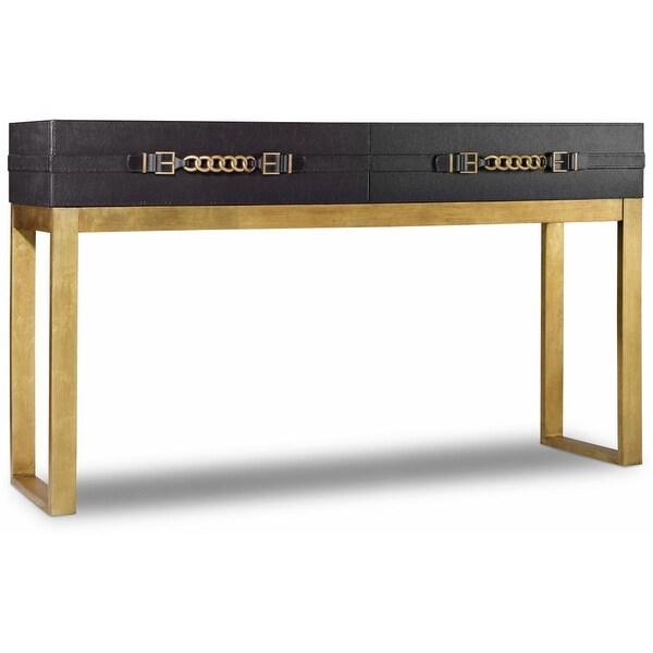 Shop Hooker Furniture 638 85280 Blk 60 Inch Long Hardwood Console