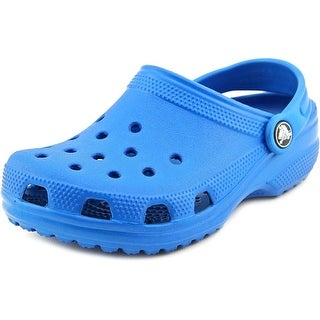 Crocs Classic Kids Round Toe Synthetic Clogs