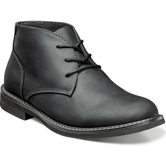 87593e3a98d156 Shop Nunn Bush Men s Lancaster Chukka Boot Black Oiled Leather - Free  Shipping Today - Overstock - 17639040