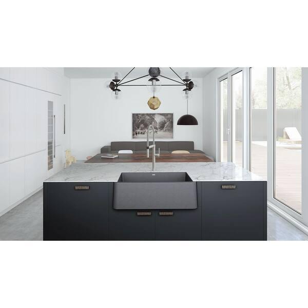 Shop Blanco 441332 Culina Kitchen Faucet Semi Professional ...