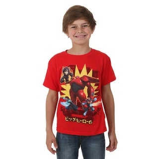 Big Hero 6 Michael Baymax Kids Juvy T-Shirt