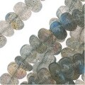 Labradorite Gem Beads Rondelles 5mm 14-Inch Strand - Thumbnail 0