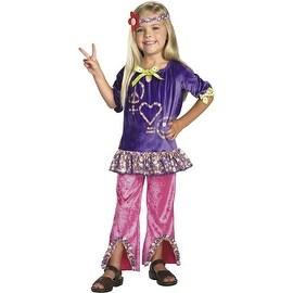 Hippie Girl Costume, Size 4-6x