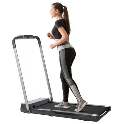 """Gamma Foldable Treadmill 15"""" Wide 0.5-7.5 mph/Portable"""