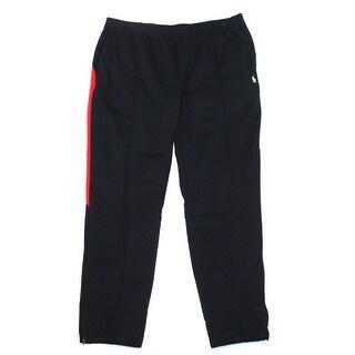 Polo Ralph Lauren NEW Men's Black Size 3XLT Double-Knit Track Pants