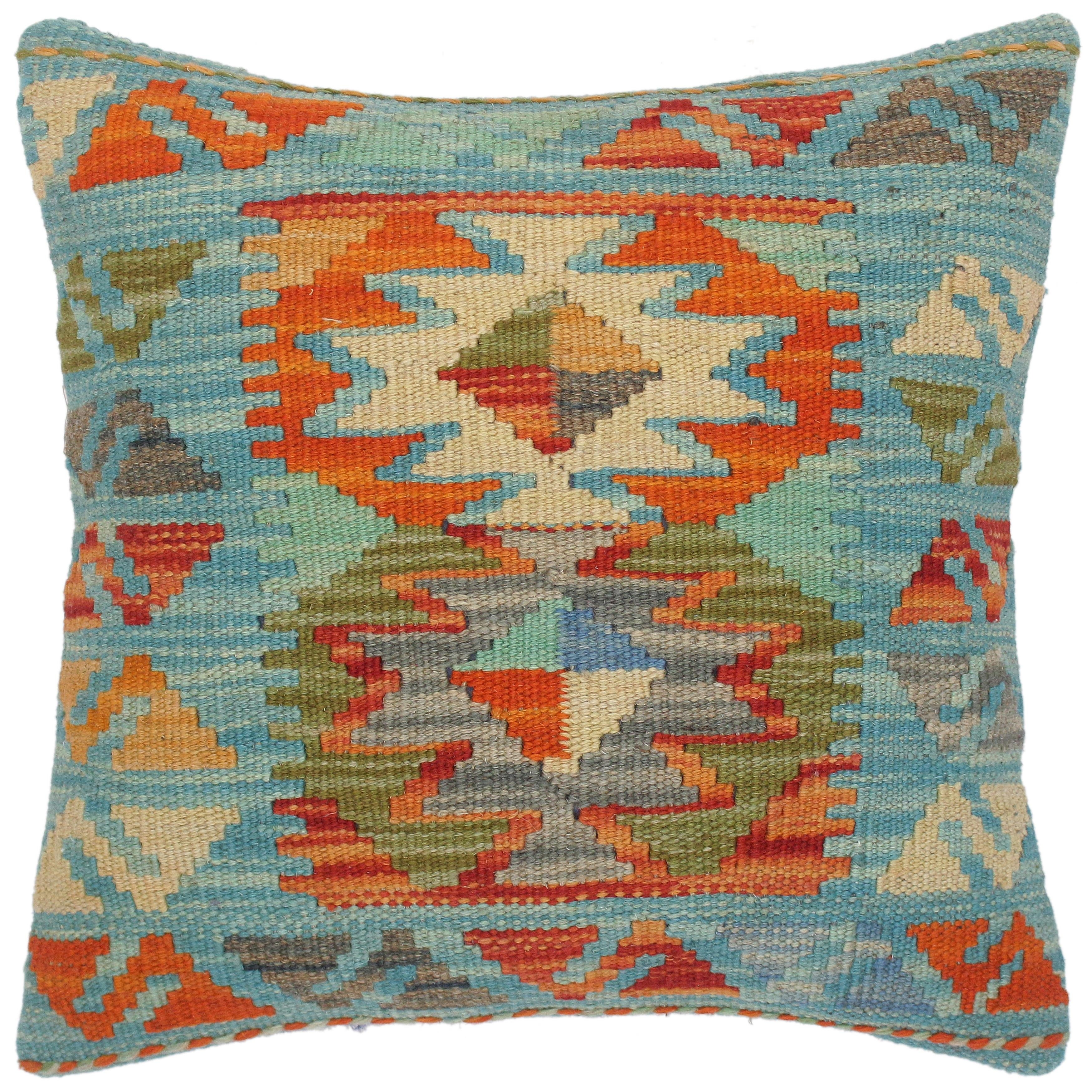 Shop For Bohemian Isaiah Hand Woven Turkish Kilim Pillow 16 In X 16 In Get Free Shipping On Everything At Overstock Your Online Home Decor Outlet Store Get 5 In Rewards With Club O 32525686