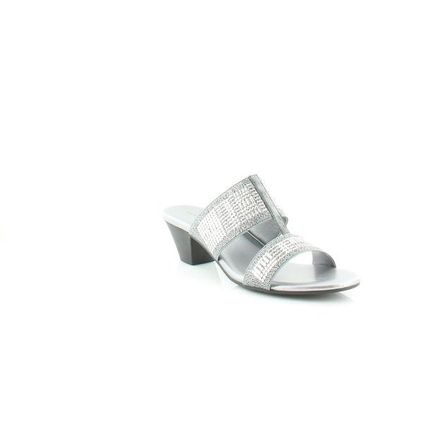 Karen Scott Zana Women's Sandals & Flip Flops Pewter