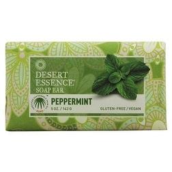 Desert Essence Bar Soap Peppermint 5-ounce